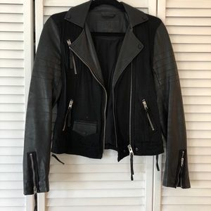 LIMITED EDITION All Saints Leather Jacket